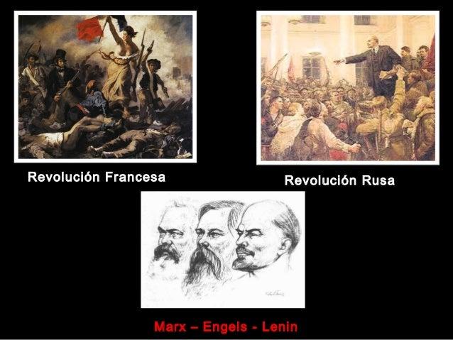 Revolución Francesa Revolución Rusa Marx – Engels - Lenin