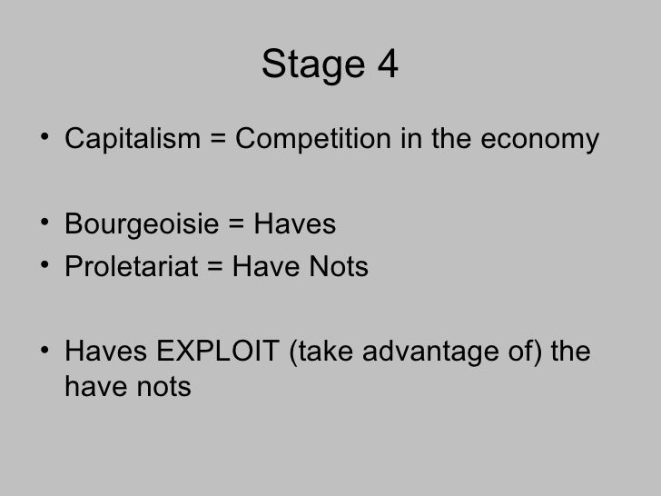 karl marx stages of economic growth