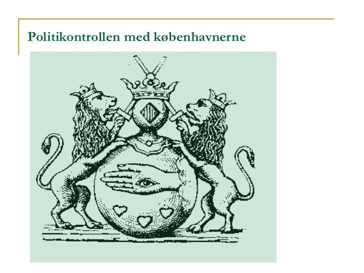 Politikontrollen med københavnerne