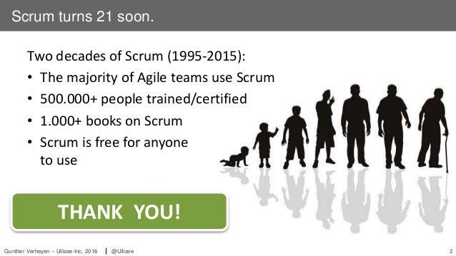 Karlsruher Entwicklertag - The Future Present of Scrum Slide 2