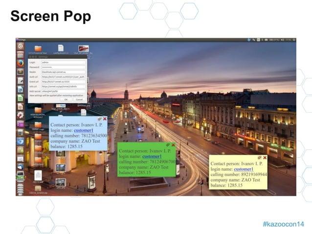 #kazoocon14  Screen Pop