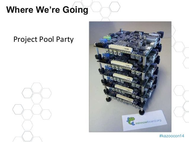 #kazoocon14  Where We're Going  Project Pool Party