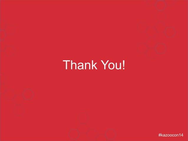 Thank You!  #kazoocon14