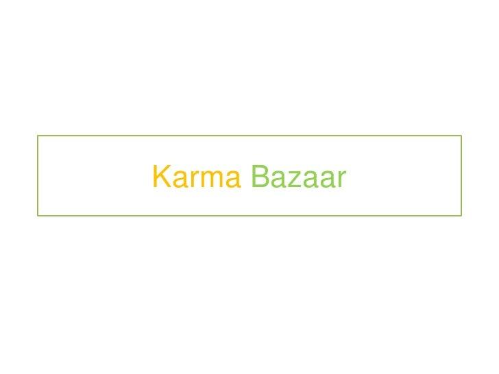 KarmaBazaar<br />