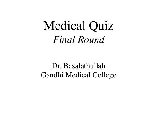 Medical Quiz Slide 2
