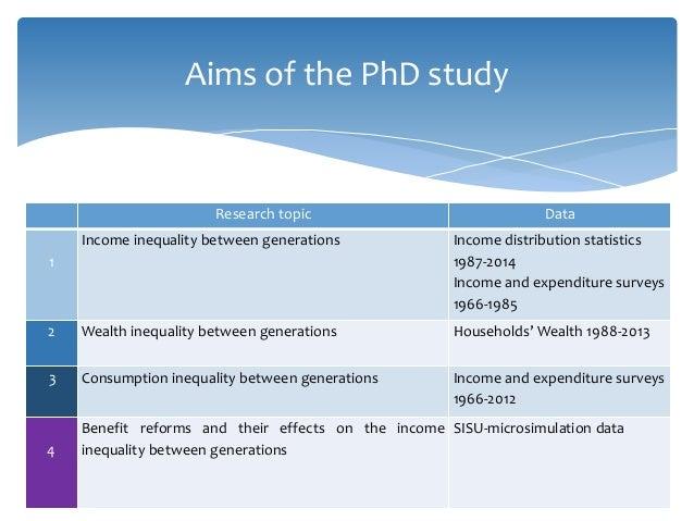 Economic Inequality: The life course perspective over economic shocks Slide 2