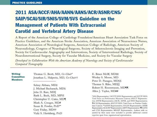 Hipertansiyon TedavisiHipertansiyon Tedavisi • Hipertansiyonu olan, asemptomatik extrakranial karotis arterosklerozunda, o...