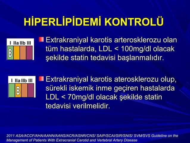 HİPERLİPİDEMİ KONTROLÜHİPERLİPİDEMİ KONTROLÜ Yüksek doz statin tedavisineYüksek doz statin tedavisine rağmen istenen LDL d...