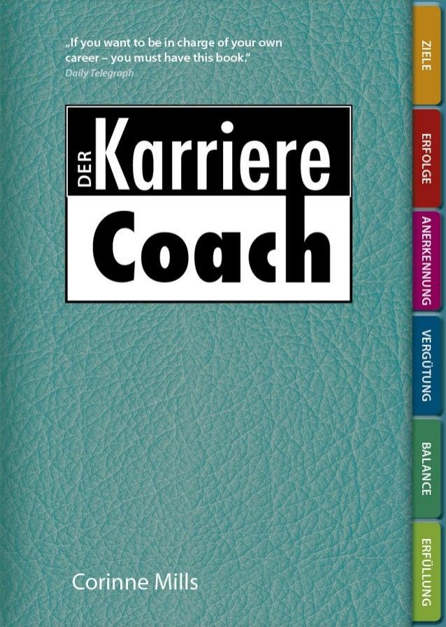 DER  Das persönliche Arbeitsbuch für eine bessere Karriere Corinne Mills