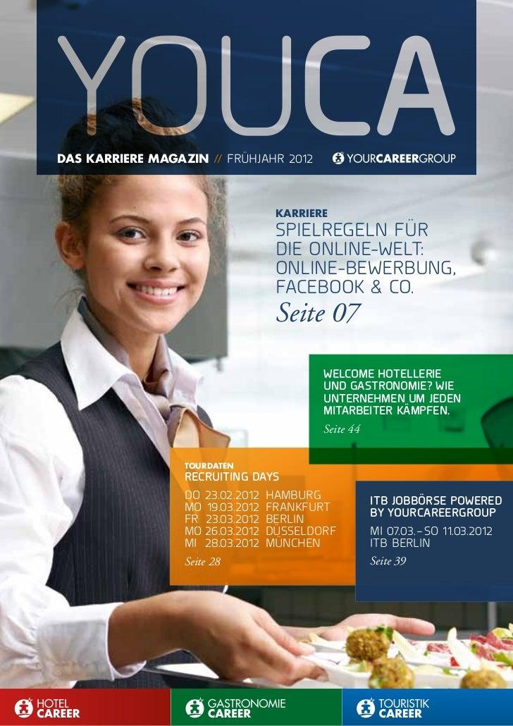 das Karriere MaGaZin // FrüHjaHr2012                                 Karriere                                 spielregeln...