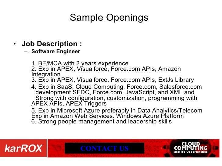 Cloud Computing Jobs In India