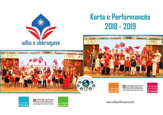 Karta e Performancës 2018 - 2019 www.udhaeshkronjave.com