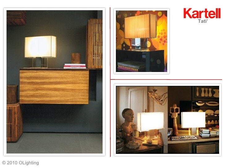 Kartell Lighting A Random Collection