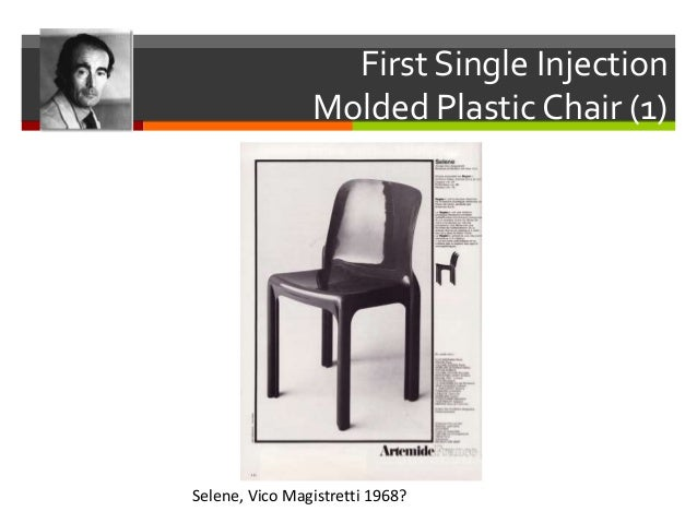 The First Plastic Chair Bofinger Chair, Helmut Batzner 1964/1966; 7. First  Single Injection Molded ...