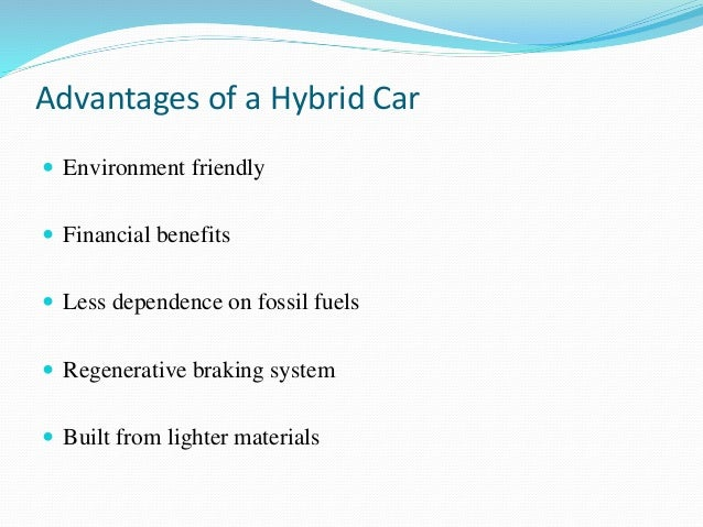 advantages and disadvantages of hybrid cars Hybrid electric vehicles or hevs merge internal combustion engines with electric motors, offering improved fuel efficiency over cars that operate on gasoline only.