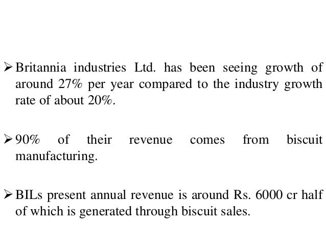 demand estimation for britannia biscuit industry Free essay: demand estimation for britannia biscuit industry 1introduction: our objective was to study the demand variation of britannia biscuits in india.