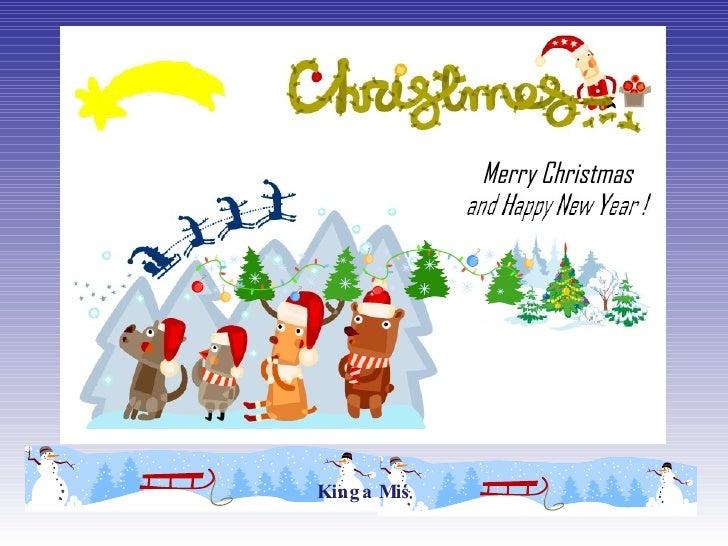 Kinga Miś Merry Christmas