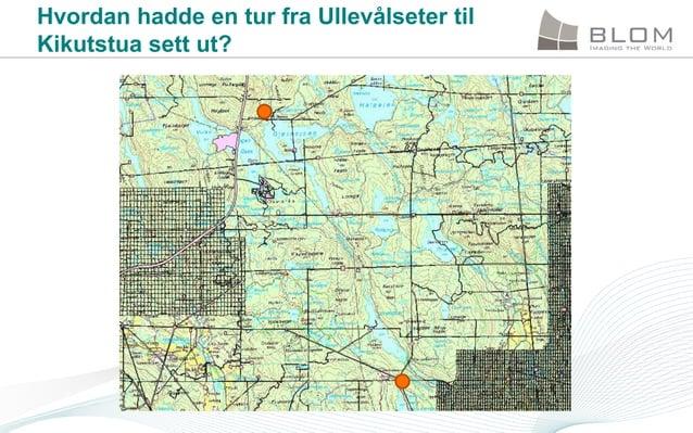 Hvordan hadde en tur fra Ullevålseter til Kikutstua sett ut?