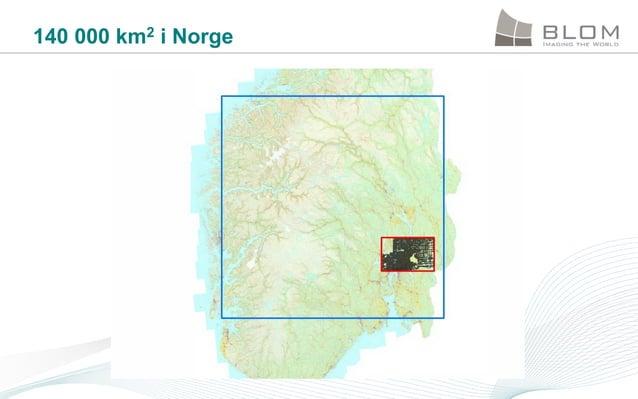 140 000 km2 i Norge