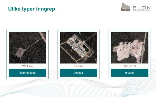 Ulike typer inngrep  Well site  Facility  Gravel pit  Brønnanlegg  Anlegg  grustak