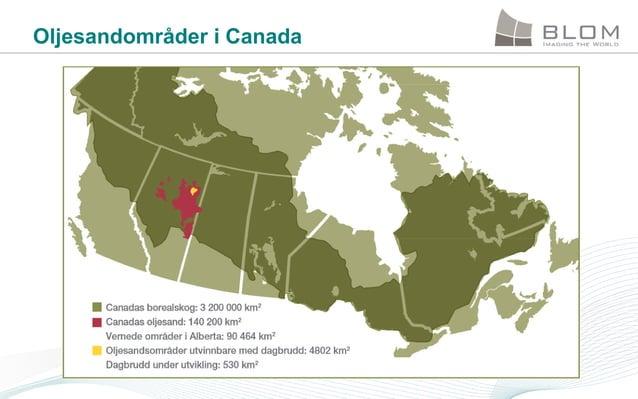 Oljesandområder i Canada