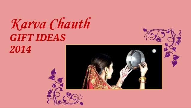 Karva Chauth  GIFT IDEAS  2014