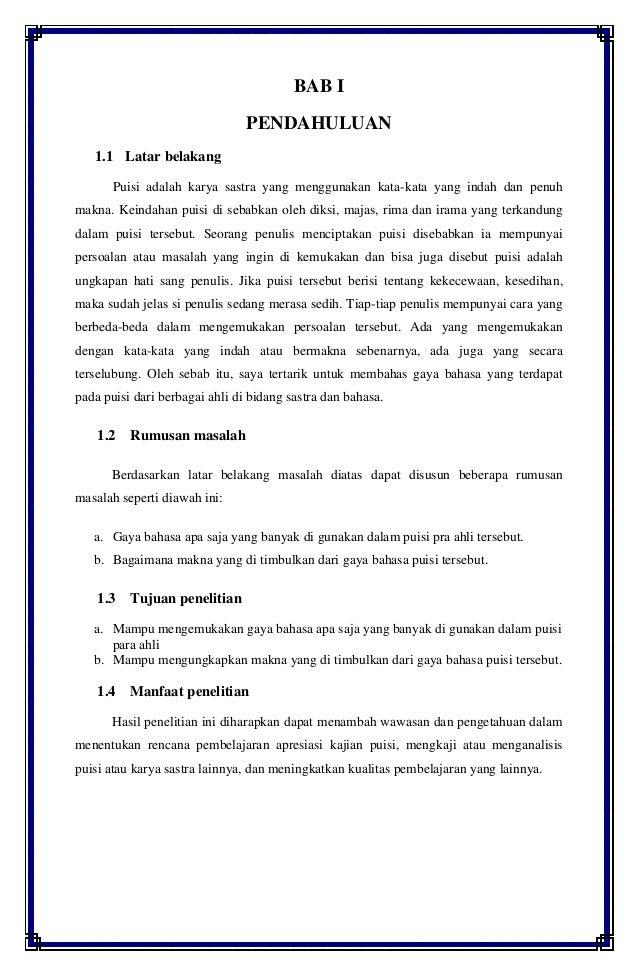 Karya ilmiah, bahasa indonesia, MEMAHAMI MAKNA DARI SEBUAH ...