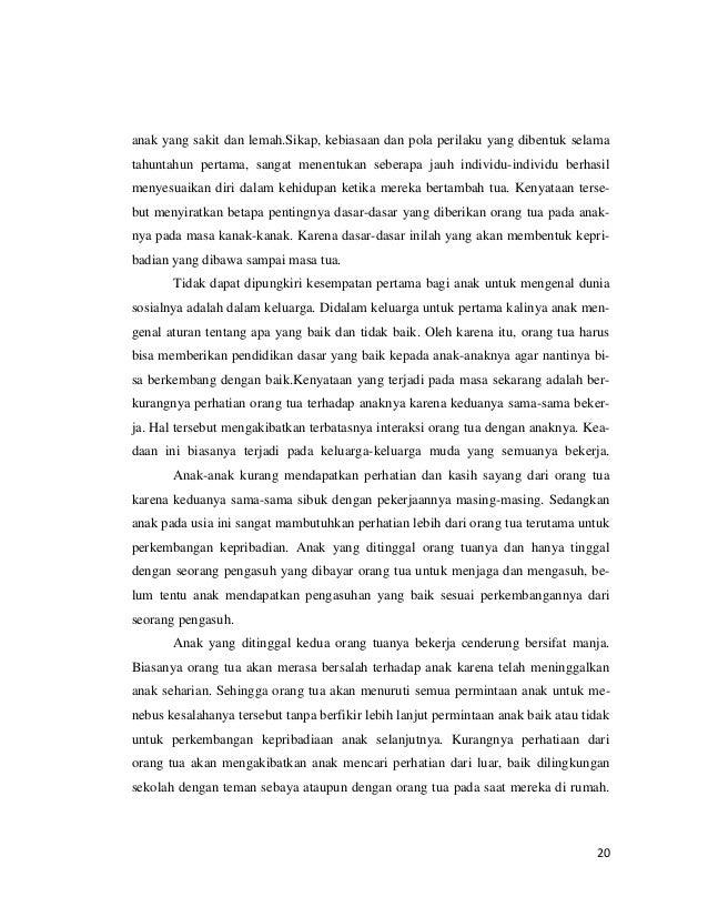 Presentation1karya Tulis Ilmiah Peran Orang Tua Dalam Membangun Priba