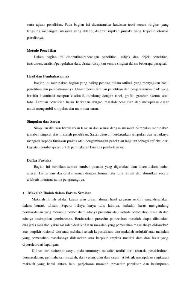 Karya Tulis Ilmiah Metode Pembelajaran