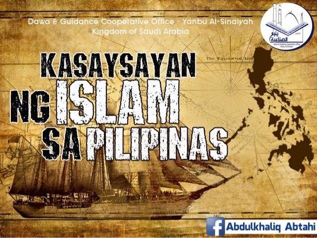 Pagdating at paglaganap ng islam sa pilipinas