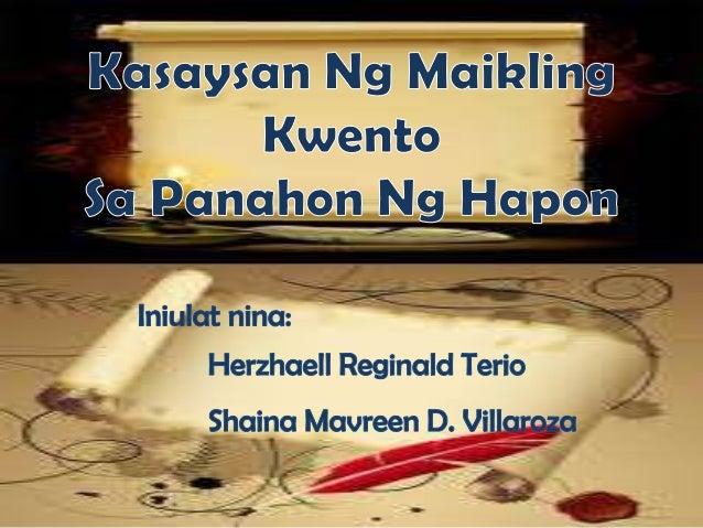 kasaysayan ng tula sa pilipinas Halimbawa 3: filipino: wika ng saliksik tula simula ng pagtungtong mo sa daigdig wika'y nakatatak na sa iyong isip, inang pinagmamasdan ang iyong bibig sa unang.