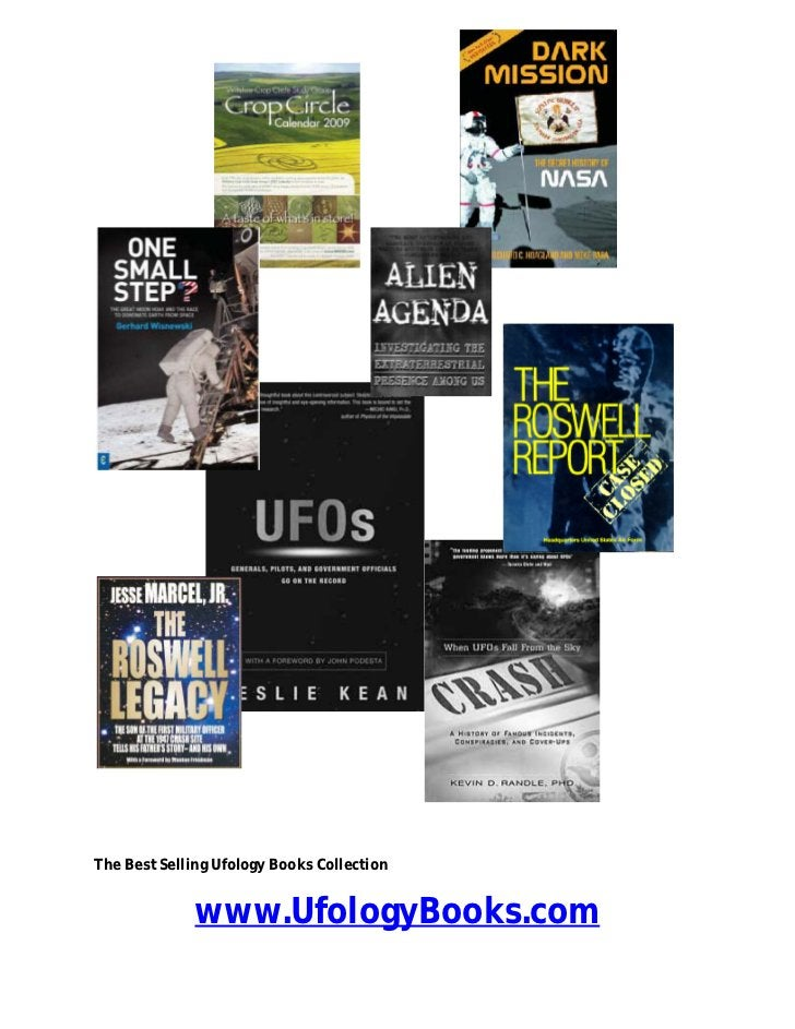 The Best Selling Ufology Books Collection              www.UfologyBooks.com