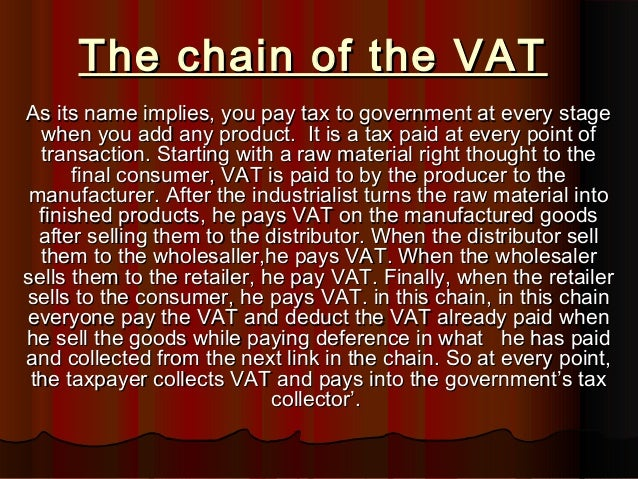 project on vat Vat on property transactions vat and indirect taxes uk value added tax in some cases, can make a project commercially non-viable.