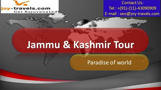 Jammu & Kashmir Tour           Paradise of world