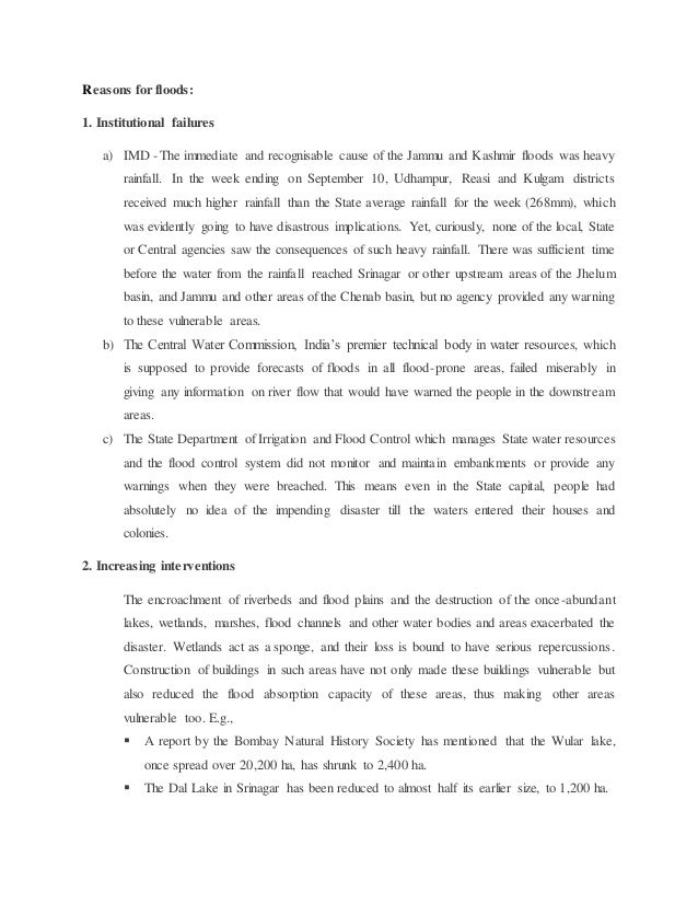 Flood In Kashmir Short Essay Topics - image 9