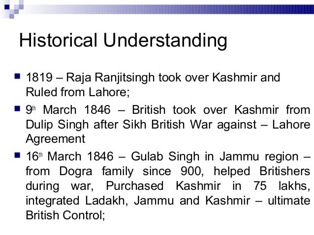 Jammu And Kashmir Problems And Solutions