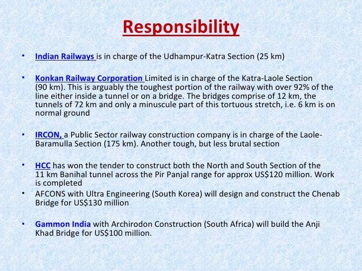 Kashmir rail project