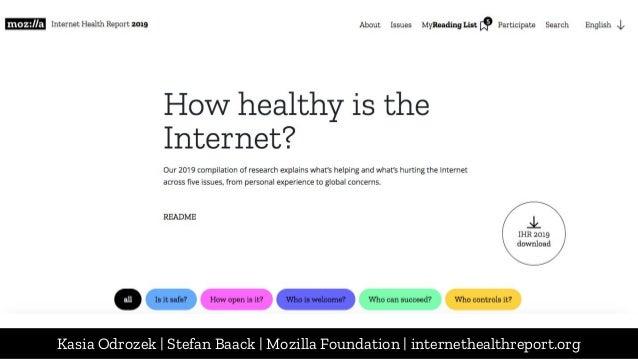 The quest for an internet that serves us: Kasia Odrozek