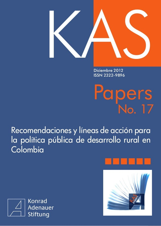 KAS              KASPapers                        Diciembre 2012                        ISSN 2322-9896                    ...