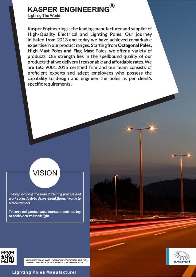 HIGH MAST | FLAG MAST | OCTAGONAL POLE | TUBULAR POLE | STREET LIGHT POLE | STADIUM MAST | DECORATIVE POLE Lighting Poles ...
