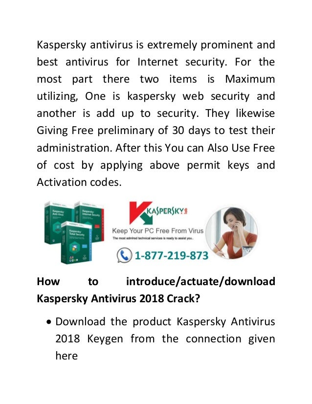 kaspersky internet security antivirus 2018 free download