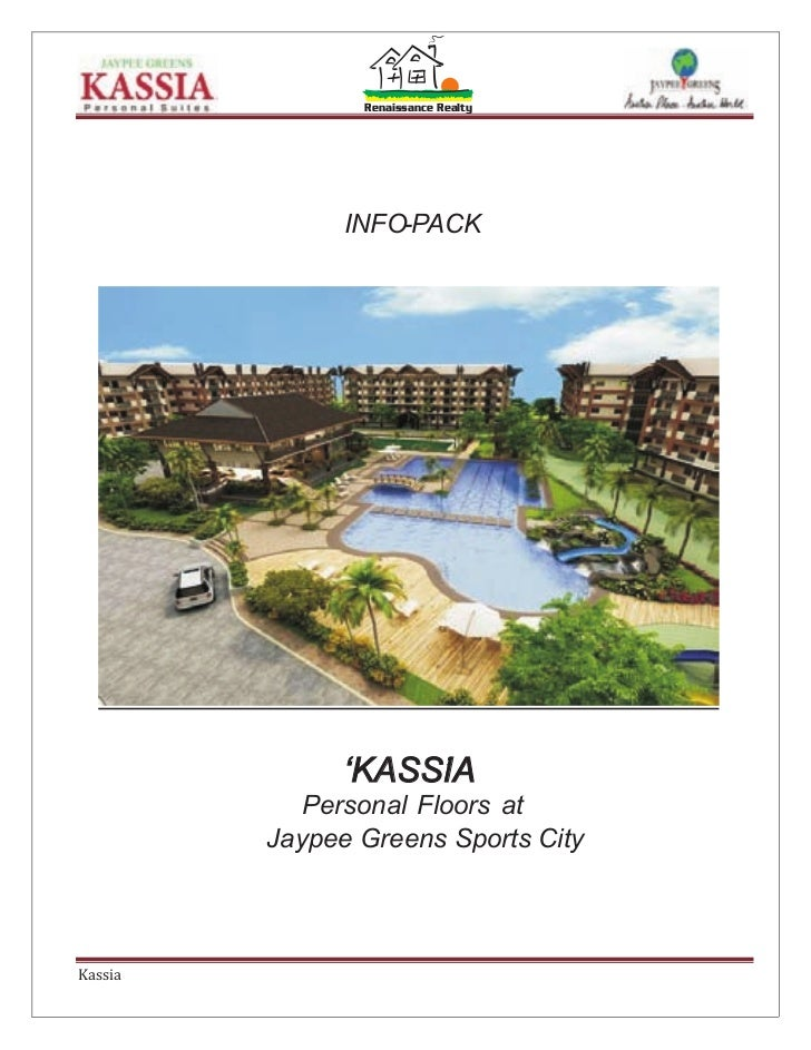 Renaissance Realty               INFO-PACK               'KASSIA                    '            Personal Floors at       ...