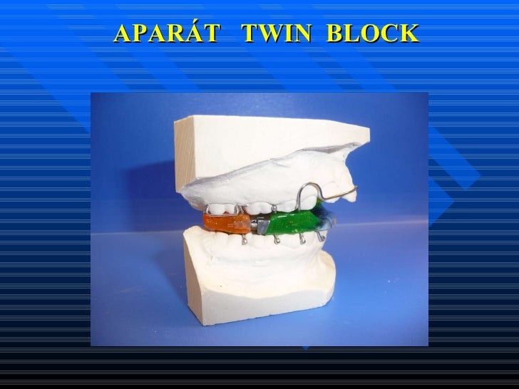 APARÁT  TWIN  BLOCK