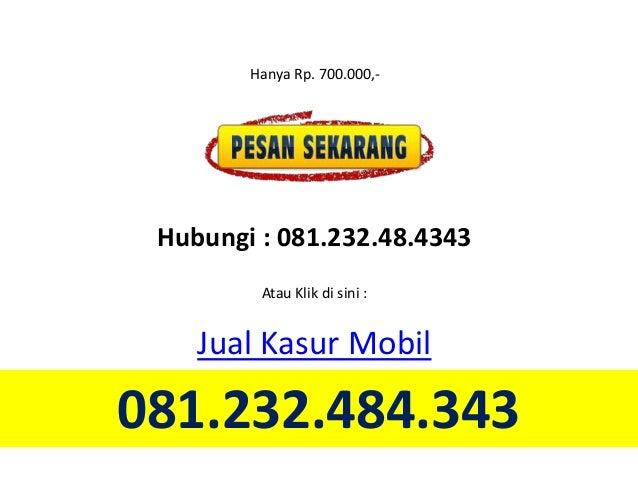 081232484343 Jual Kasur Mobil Mataram Dan Matras Mobil