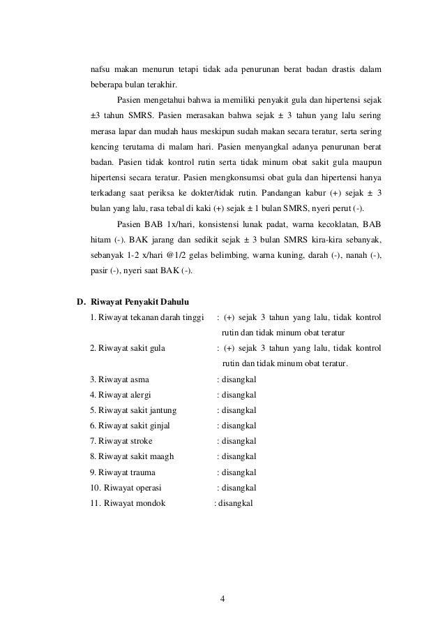 Presentasi Kasus CKD pada DM Tipe 2