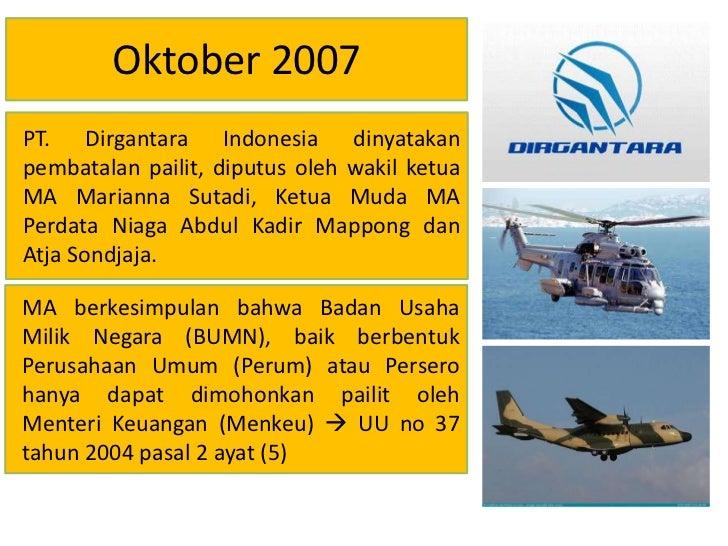 kasus pt dirgantara indonesia Analisa kasus: recall toyota, pembobolan atm bca, dan demonstrasi atas pt sony indonesia berikut ini takehome exams management komunikasi korporasi uas.