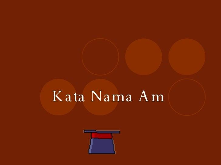 Kata Nama Am