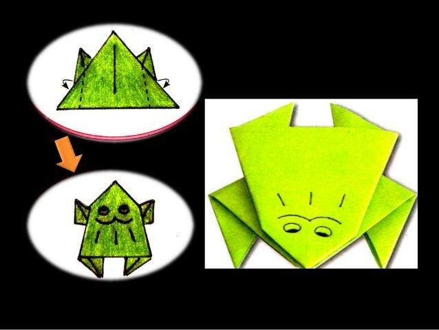 Origami Katak
