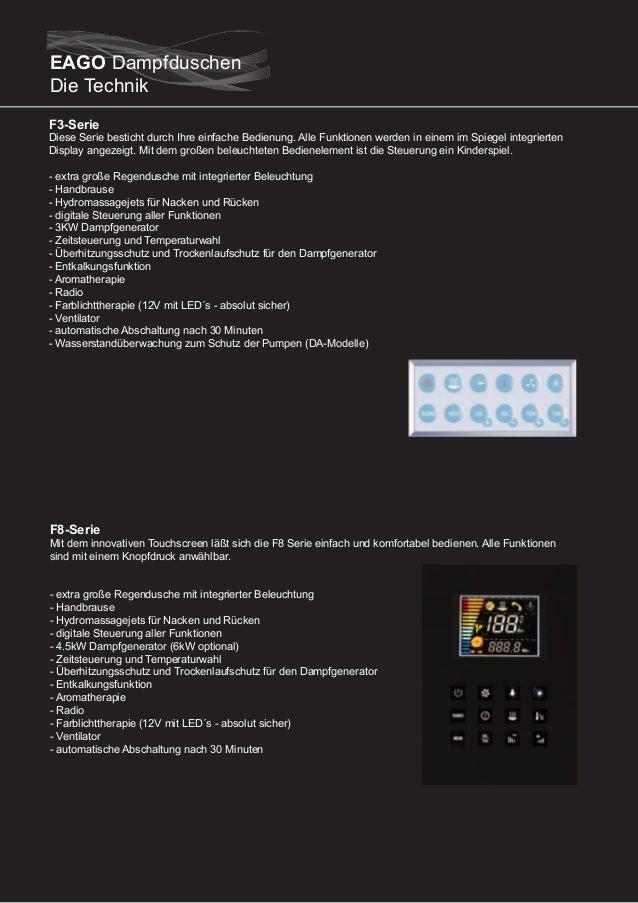 F9-Serie  Die F9 Serie von EAGO besticht durch inovatives Design und einer beeindruckenden Funktionalität. Die Technik ist...