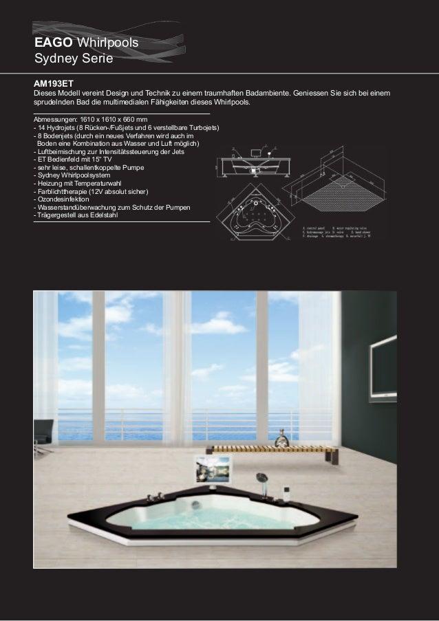 AM192ET (rechte Version)  Dieses Modell vereint Design und Technik zu einem traumhaften Badambiente. Geniessen Sie sich be...